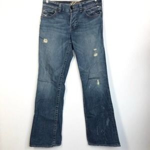 William Rast Men's Billy Boot Cut Jeans Sz 32